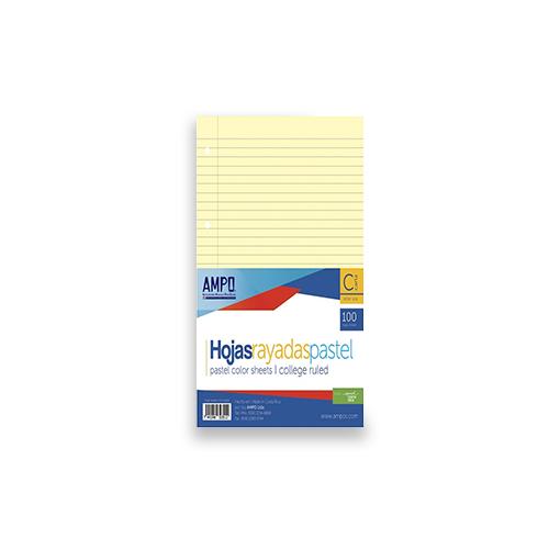 Hojas para Folder